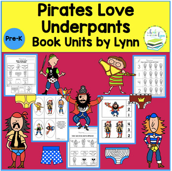 PIRATES LOVE UNDERPANTS BOOK UNIT
