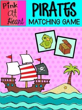 Pirates Matching Game
