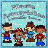 PIRATES  -- Nameplates, Labels & Reading Logs, Conferencing Forms