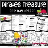PIRATES TREASURE Preschool PreK Kindergarten 1-Day Lesson Plan