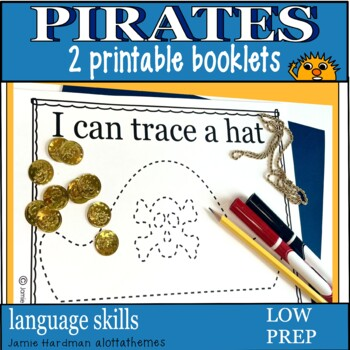 graphic relating to Pirates Printable referred to as PIRATES kindergarten- printable booklets