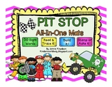 Play Dough PIT STOP All-In-One Sight Word Mats!!! Great for Word Work!