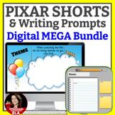 PIXAR Short Films and  Writing Prompts BUNDLE