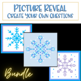 PIXEL ART MYSTERY: Snowflake BUNDLE - Easy to Use Template