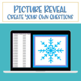 PIXEL ART MYSTERY: Snowflake - Easy to Use Template for Di