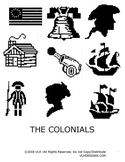 PIXEL ART MYSTERY- THE AMERICAN COLONIES