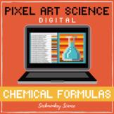 PIXEL ART SCIENCE: Chemical Formula Hidden Picture DIGITAL