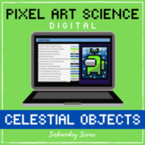 PIXEL ART SCIENCE: Outer Space Celestial Bodies Hidden Pic