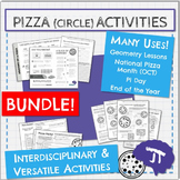 PIZZA BUNDLE! Area & Circumference, Proportions, & Interdi
