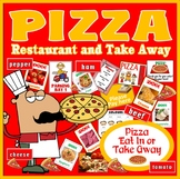 PIZZA DELIVERY SHOP ROLE PLAY FOOD HEALTHY EATING EARLY YEARS KEY STAGE 1-2
