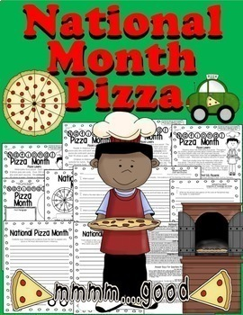 PIZZA MONTH! Close Reading 4 Levels HW Centers Guided Reading & More CC Aligned