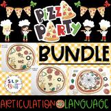 PIZZA PARTY, BUNDLE (ARTICULATION & LANGUAGE) SPEECH & LAN