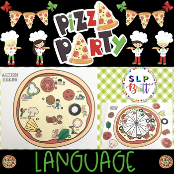 PIZZA PARTY, LANGUAGE (SPEECH & LANGUAGE THERAPY)
