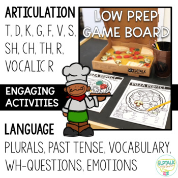 PIZZA THEMED SPEECH THERAPY UNIT