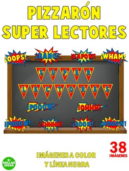 READING BULLETIN BOARD | PIZZARÓN SUPER LECTORES | SPANISH