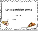 Pizza Fractions Book