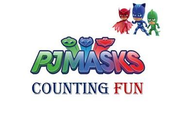 PJ MASKS COUNTING FUN