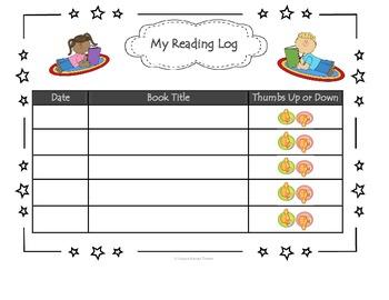 PK-2 Bilingual Reading Logs