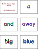 PK - 2nd Grade Dolch Vocabulary Sight Words PowerPoint and