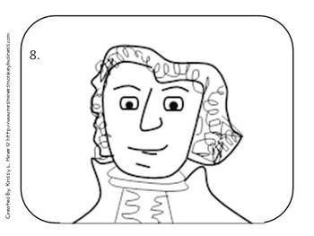 PK-3 Draw the Presidents: Abe Lincoln & George Washington {Directed Drawings}