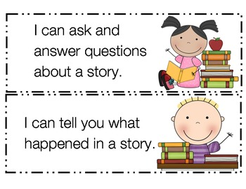 Preschool I Can Statements