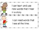 Preschool I Can Statements
