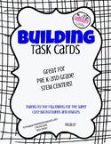 PK, K, 1st Grade Building Task Cards