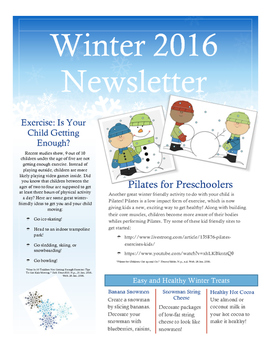 PK/ K Health Newsletter