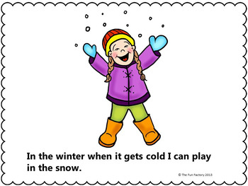 Verbs - Winter Literacy   for K-1
