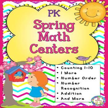 Spring PK Math Centers