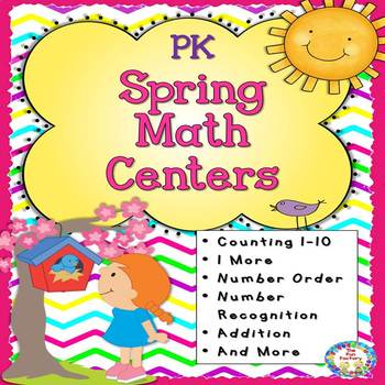 Spring PK Math Centers