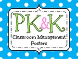 PK and Kinder Classroom Mngt. Posters