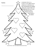 PK to 3rd A Wish to be a Christmas Tree by Colleen Monroe Worksheets