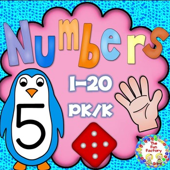 Counting Sets ~ Numbers 1-20 { PK/K }