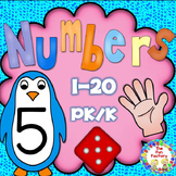 Counting Sets  Numbers 1 to 20  PK and K