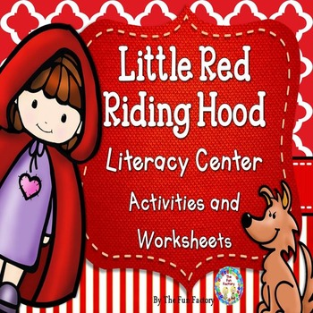 Fairy Tale Math and Literacy PK and Kindergarten Bundle