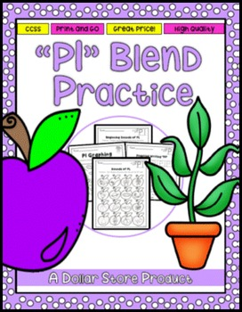 PL Blend Practice Printable
