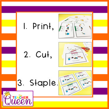 PL- Blend Readers Levels A and C (Printable and Projectable Books)