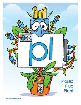 PL (Plastic Plug Plant) Blend Buddy Poster