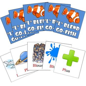 PL and BL Blends Articulation Go-Fish Cards