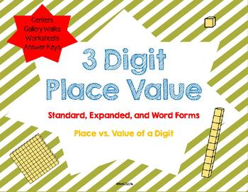PLACE VALUE!! 3 Digit Place Value