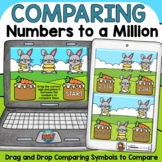 PLACE VALUE COMPARING NUMBERS BOOM DIGITAL TASK CARDS DIST