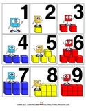 PLACE VALUE Calendar Number Squares and Math Center Pieces