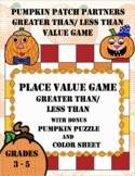 PLACE VALUE GAME: Great Than, Less Than to the Millions