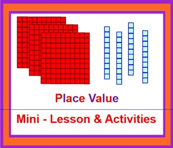 PLACE VALUE Mini Lesson and Activity