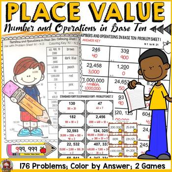 PLACE VALUE {NUMBER & OPERATIONS IN BASE TEN NO PREP} BACK