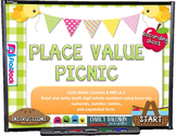 PLACE VALUE Picnic PowerPoint Game (CCSS 4.NBT.A.2)