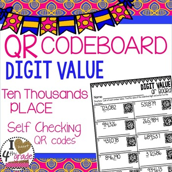 PLACE VALUE QR Printable