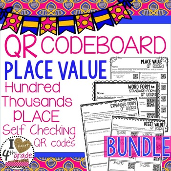 PLACE VALUE QR Printables