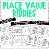 PLACE VALUE RIDDLES! 1, 2, and 3-digit numbers!